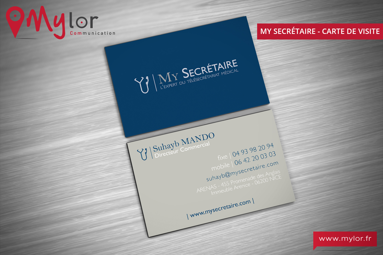 Cartes De Visite My Secretaire